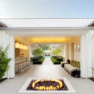 Bathhouse at Solage Calistoga, luxury hotel in Napa & Sonoma Valley
