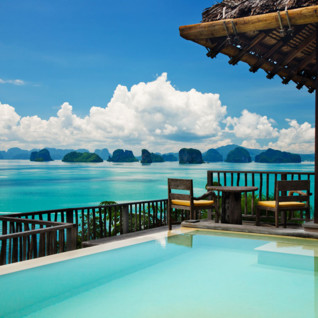 View From Six Senses Yao Noi