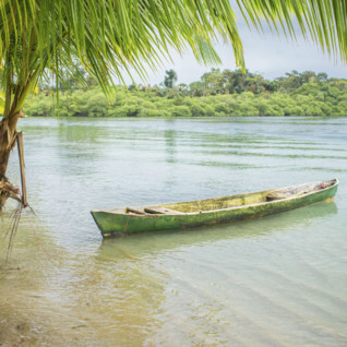 Canoe in Panama
