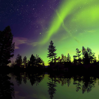 The Northern Lights, Swedish Lapland