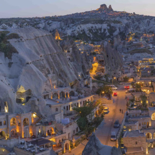 Night View of Cappadocia