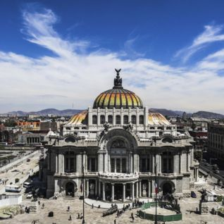 Palace des Beaux Artes, Mexico City