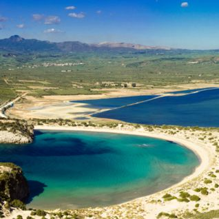 Beaches in the Peloponnese