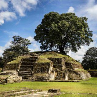Iximche Ruins in Guatemala
