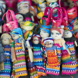 Dolls in Guatamala