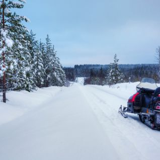Snowmobile, Sweden