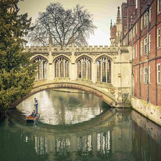 Pictured is the Bridge of Sighs, Cambridge