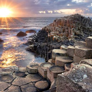 An image of Giant's Causeway located in County Antrim, Northern Ireland