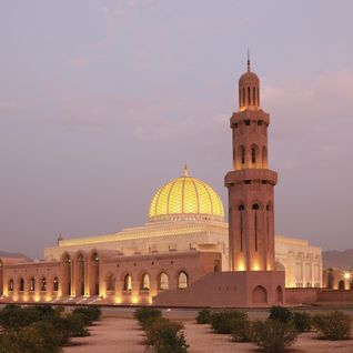 Mosquee in Muscat