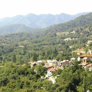 Mountains in Troodos, Cyprus