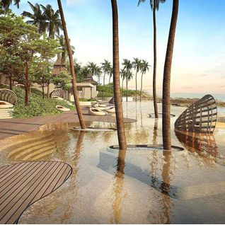 Resort Pool, Ritz Koh Samui