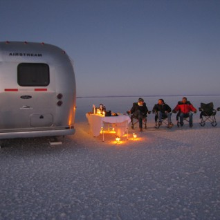 Airstream Adventure in the Salt Flats