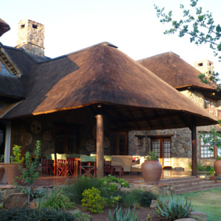 The exterior at Jembisa, luxury safari camp in South Africa