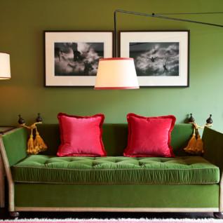 Interior at Gramercy Park Hotel, luxury hotel in New York