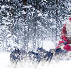 Father Christmas, Lapland