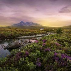 Landscape, Scotland Islands
