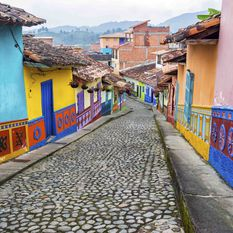 Colourful Houses, Bolivia