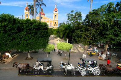 View across Granada, Nicaragua