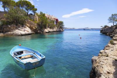 Bay view in Mallorca