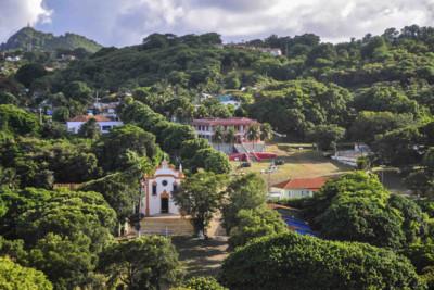 Scenery in Fernando de Noronha in North East Brazil
