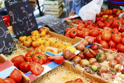 Food Market Stall, Provence