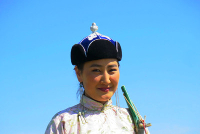 smiling archer