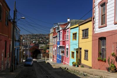 valparaiso street istock