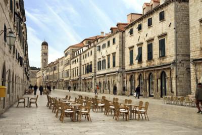 Dubrovnik The Stradun