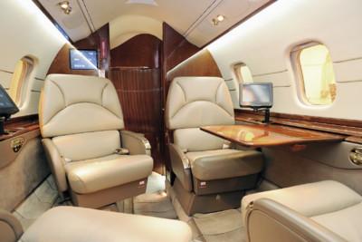 Private Jet Inside
