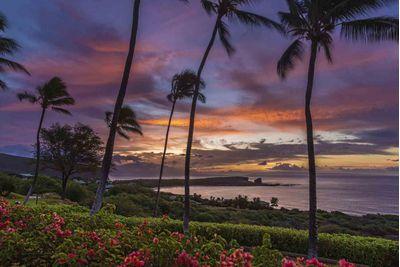 A beautiful Lanai sunset