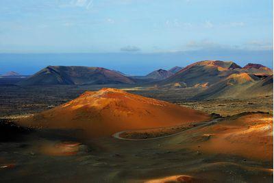 Lanzarote mountains