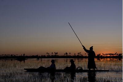 Canoieng in Botswana