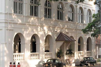 Amangalla Hotel exterior, Galle, Sri Lanka