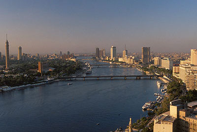 The Nile view from the Four Seasons