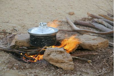 Cooking in rural area