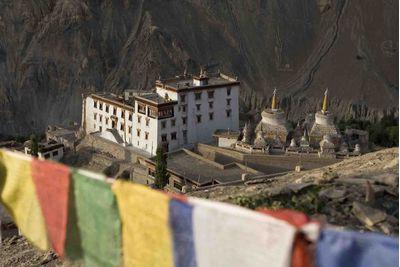 Ladakh monastry views