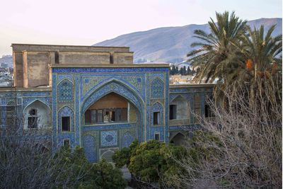 blue mosque in shiraz