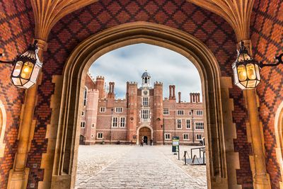 A picture of Hampton Court Palace
