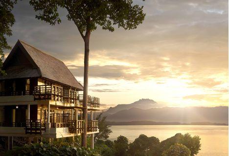 Gaya Island Sunset