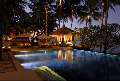 spa village swimming pool