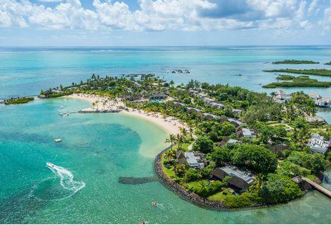 four seasons resort aerial view