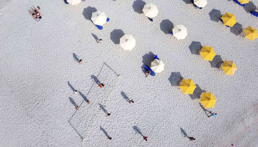 Beach Umbrellas, Halkidiki