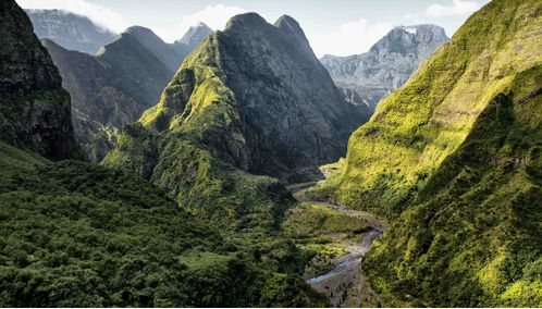 Mountains in Reunion