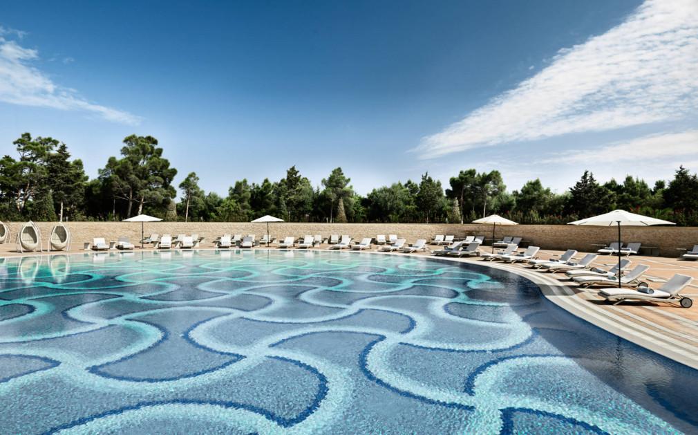 Jumeirah beach club dubai original travel - Jumeirah beach hotel swimming pool ...
