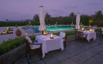 Picture of Clubhouse Restaurant Terrace Dining at Amanpulo