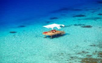 The ocean cabana at Baros Maldives