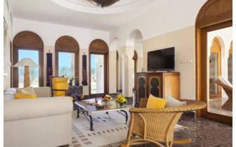 Picture of a living room at the Oberoi Sahl Hasheesh
