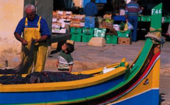 Picture of Fisherman in Gozo