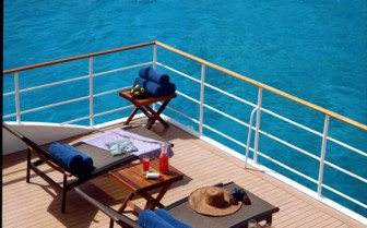 Picture of the Stern Deck onboard the Four Seasons Explorer