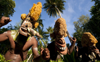 Picture of tribes in New Ireland